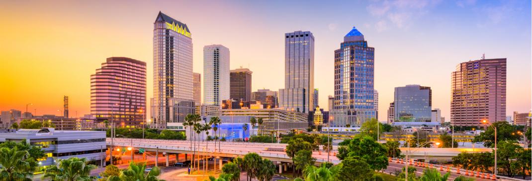 Top cities in Florida