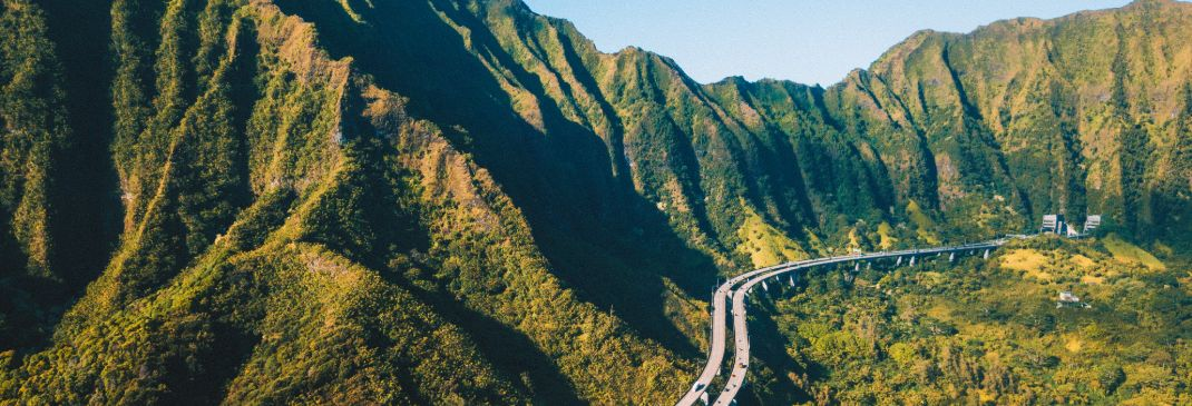 Driving in and around Oahu
