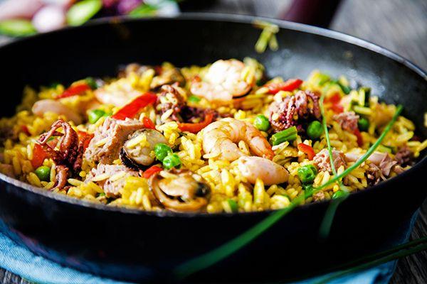 how to make paella spanish rice dish