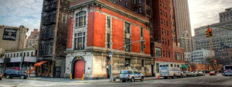 New York City – Ghostbusters HQ