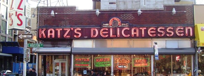 Katz's Deli, When Harry Met Sally