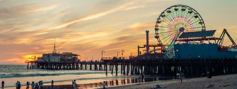 Jetée de Santa Monica