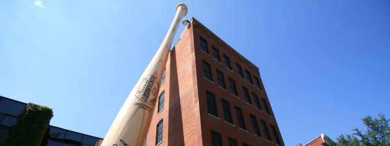 Louisville, Musée du baseball et de la batte Slugger