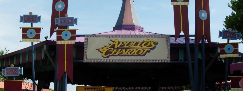 Apollo's Chariot @ Busch Gardens